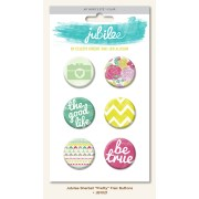Бэйджи Flair Buttons коллекции Jubilee - Sherbet