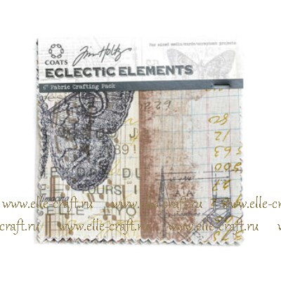 Отрезы ткани Tim Holtz Eclectic Elements 15x15 - Melange