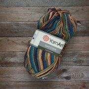 Пряжа YarnArt Crazy color - 151