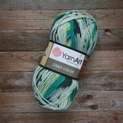 Пряжа YarnArt Crazy color - 166