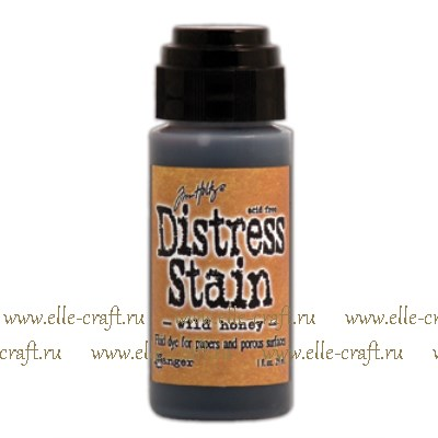 Краска Distress Stain- Wild Honey