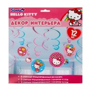 Гирлянды спиральки Hello Kitty