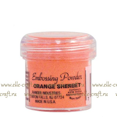 Пудра для эмбоссинга Ranger Orange Sherbet