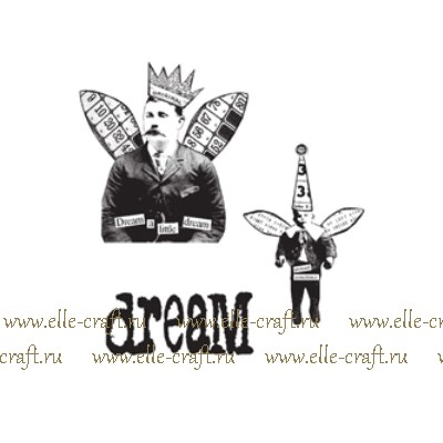 Набор штампов Tim Holtz by Stampers Anonymous - Winged Things II