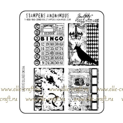 Набор штампов Tim Holtz by Stampers Anonymous - Creative Collages
