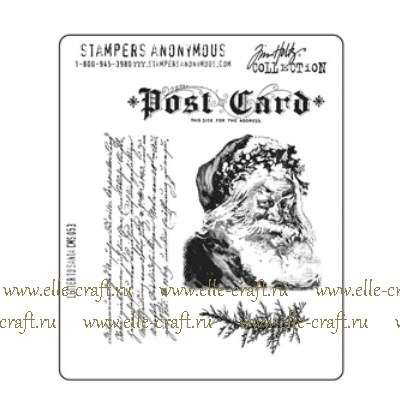Набор штампов Tim Holtz by Stampers Anonymous - Letter to Santa