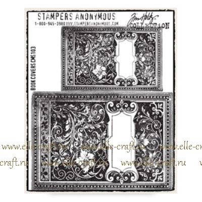Набор штампов Tim Holtz by Stampers Anonymous - Book Covers