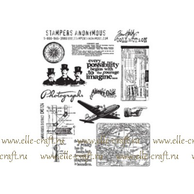 Набор штампов Tim Holtz by Stampers Anonymous - Warehouse District