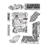 Набор штампов Tim Holtz by Stampers Anonymous - Classics #7